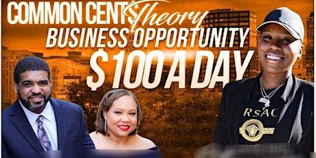 South Carolina Common Cent$ Theory - Make $100 Dollars a Day tickets