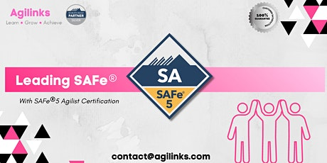 Leading SAFe (Online/Zoom) Aug 19-20, Thu-Fri, Sydney  9am-5pm , AET tickets