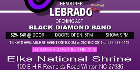 Southern Soul Concert Featuring Lebrado tickets