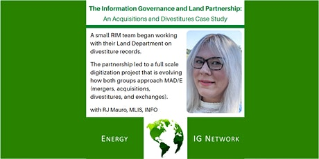 Energy IG Network - August 2021 Meeting tickets