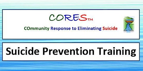CORES Suicide Prevention Training- TOWNSVILLE tickets