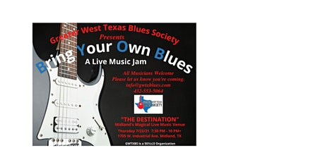 Greater West Texas Blue Society tickets