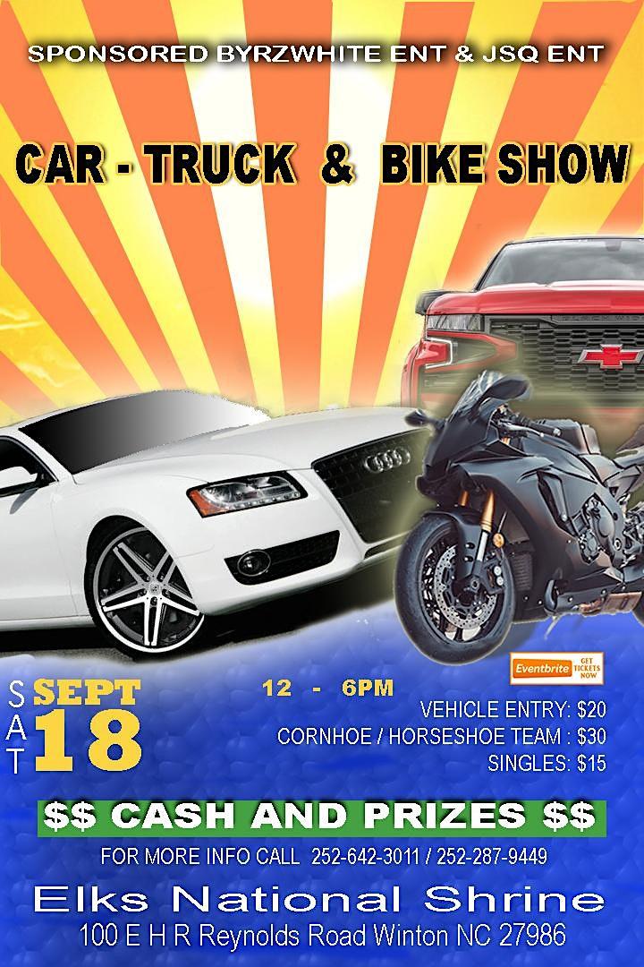 2nd Annual Car/Truck/Bike Show image