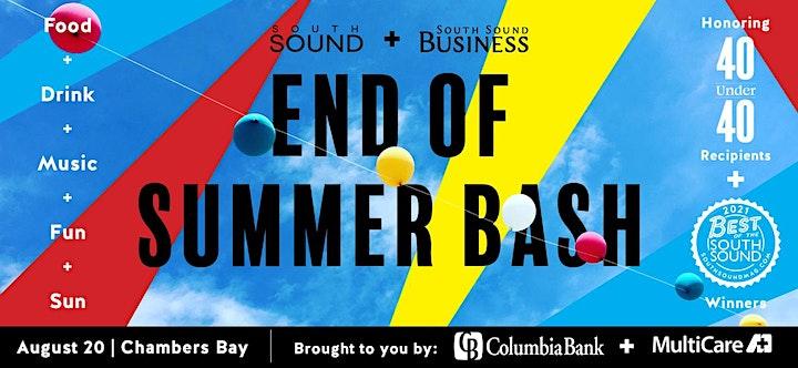 End of Summer Bash image