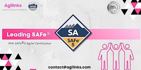 Leading SAFe (Online/Zoom) Aug 14-15, Sat-Sun, Chicago  9am-5pm , CDT tickets