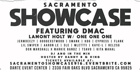 Sacramento Showcase tickets
