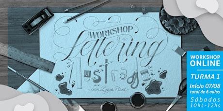 Lettering Ilustrado com Lygia Pires - Sábados ingressos
