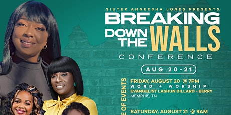 Breaking Down The Walls Conference 2021 tickets