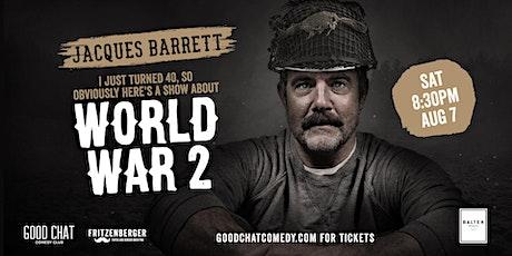 Jacques Barrett | World War 2 tickets
