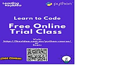 Online Python Class tickets