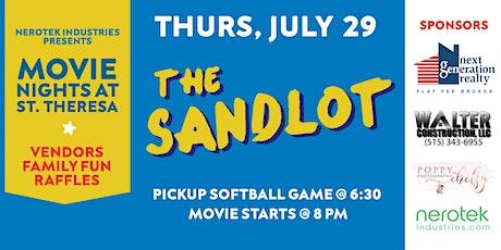 """The Sandlot"" — Movie Nights at St. Theresa tickets"