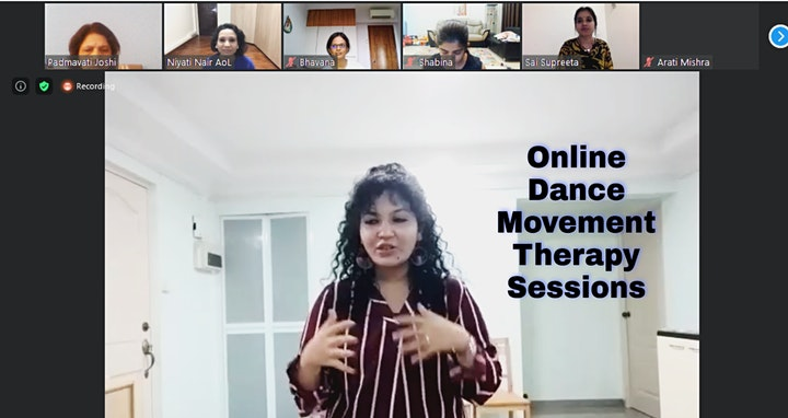 Online Dance Movement Therapy Workshop for Mind-Body Wellness image