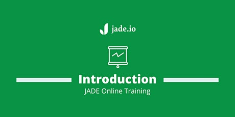 An introduction to JADE. Take a tour of JADE's Free & Professional features tickets