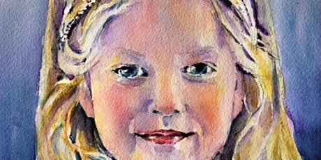 2 Day Portraiture in Watercolours Workshop with Ann Clarke tickets