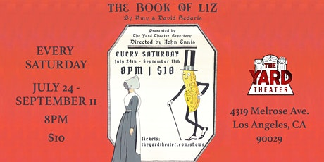 The Book of Liz, by Amy and David Sedaris tickets