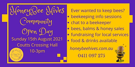 HoneyBee Hives Community Open Day Free Event tickets