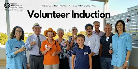 Volunteer Induction tickets