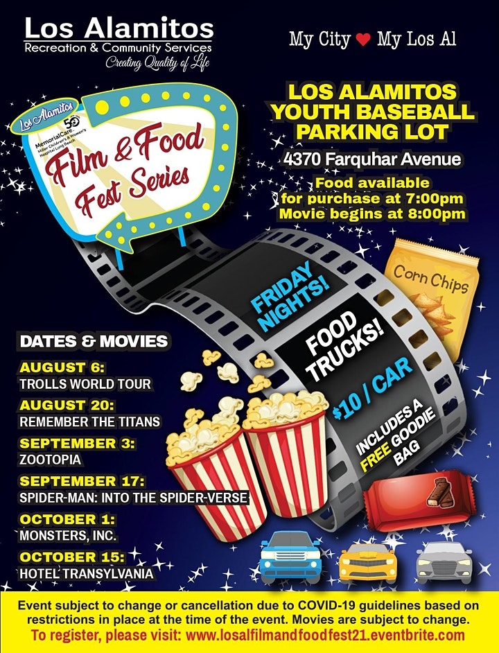 Drive-Up Film and Food Fest Event Series image