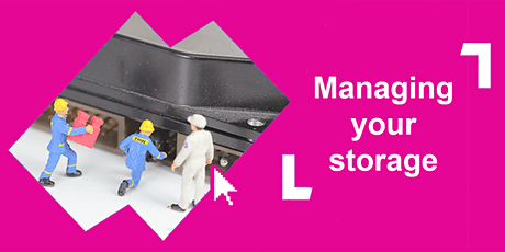 Managing storage on your device @ Launceston Library tickets