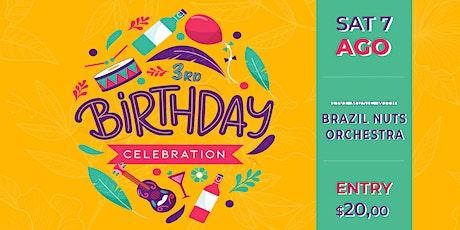 Cumbia Bar Kitchen 3rd Birthday Celebration tickets