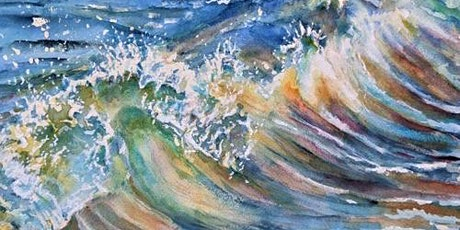 Painting Waves in Watercolours Workshop with Ann Clarke tickets