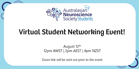 Virtual Student Networking Event tickets