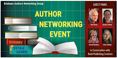 Brisbane Authors Networking Group Event – October 2021 tickets