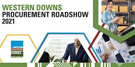2021 Western Downs Regional Council Procurement Roadshow - MILES tickets