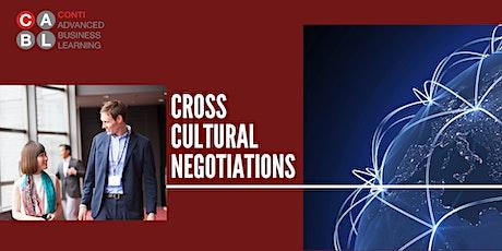 Webinar: Cross-Cultural Negotiations tickets