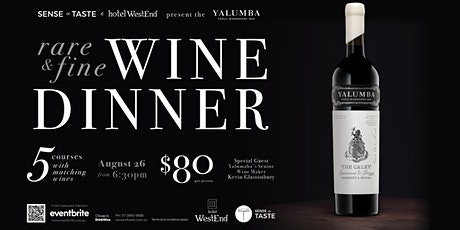Yalumba Rare and Fine Wine Dinner tickets
