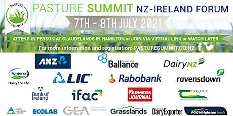 Pasture Summit NZ-Ireland Forum 2021 - RECORDING tickets