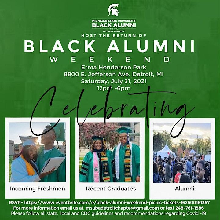 Black Alumni Weekend - Picnic image