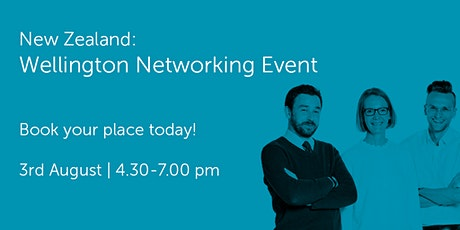 NZ030821 New Zealand: Wellington Networking Event tickets