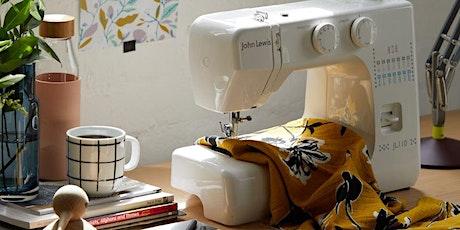 SEWING MACHINE MASTERCLASS: MAKE A 'CAFE-STYLE' APRON - £5 tickets