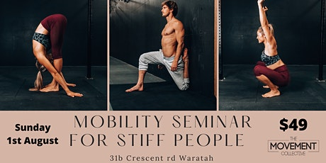 Mobility Seminar for stiff people tickets