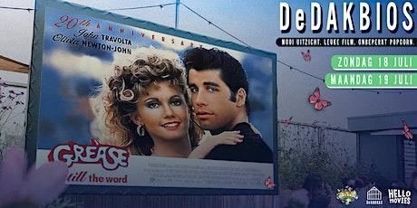 DeDAKBIOS: Film op het dak! | Grease tickets