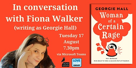 In conversation with Fiona Walker (writing as Georgie Hall) tickets