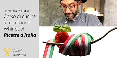 Corso di Cucina gratuito con  Microonde Whirlpool  & Trony DML biglietti