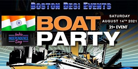 India Independence Day Boat Party. tickets