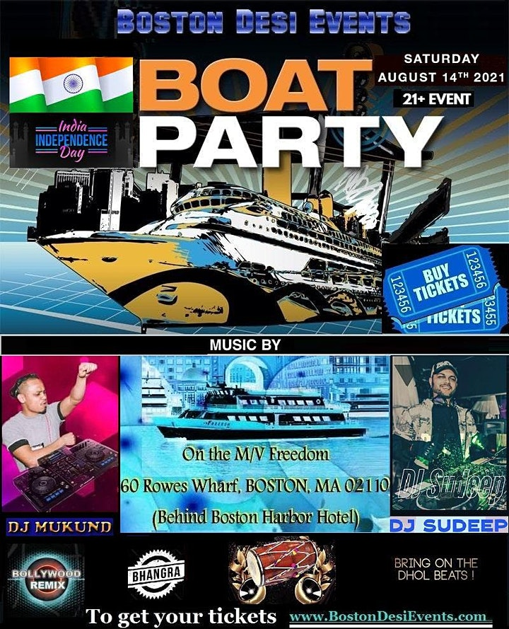 India Independence Day Boat Party. image