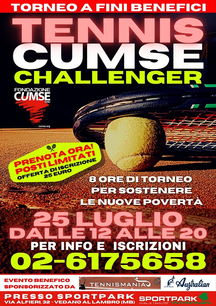 Immagine TENNIS CUMSE CHALLENGER