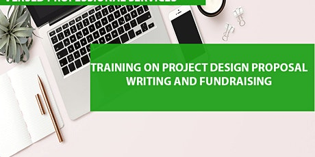 Training on Project Design, Proposal Writing and Fundraising tickets