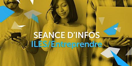 """ILES  / ENTREPRENDRE  - Séance en ligne """"Prime pour indépendant d'Actiris"""" tickets"""