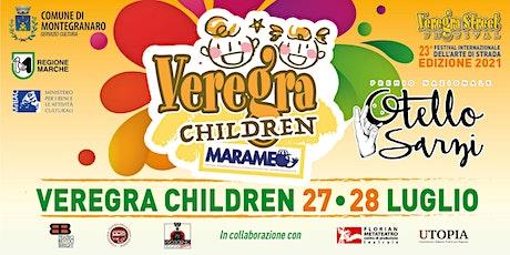 Veregra Children 2021 - Chiattaforma una fiaba galleggiante biglietti