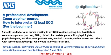 How to interpret a 12 lead ECG for the beginner tickets