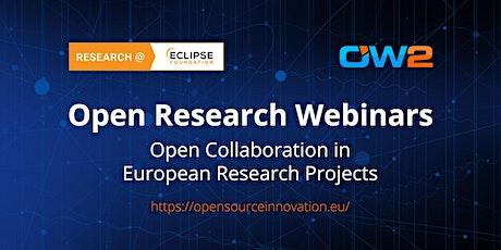 Open Research Webinar - September 28 tickets