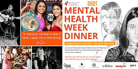 Mental Health Week Annual Dinner tickets
