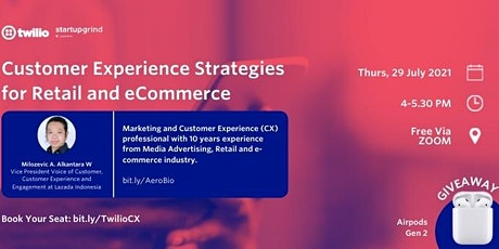 Customer Experience Strategies for Retail and eCommerce entradas