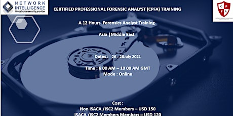 D_Certified Professional Forensics Analyst (CPFA) for Asia & Middle East tickets