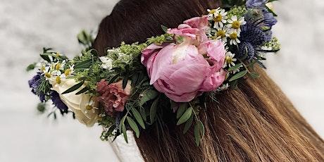 Farmyard Floristry - Fresh Flower Crown Workshop tickets